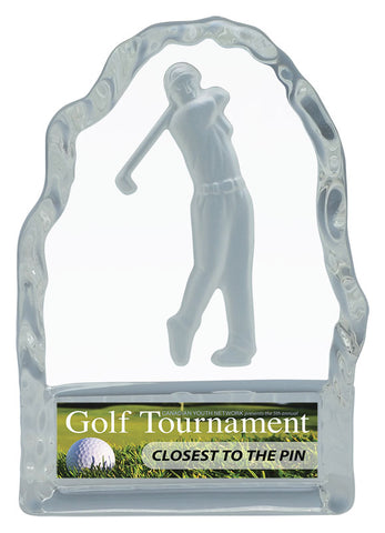 """Glass Iceberg"" Men's Golf Glass Award"