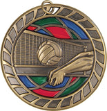 Volleyball - Stained Glass Medal