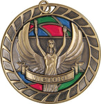 Victory - Stained Glass Medal