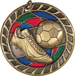 Soccer - Stained Glass Medal