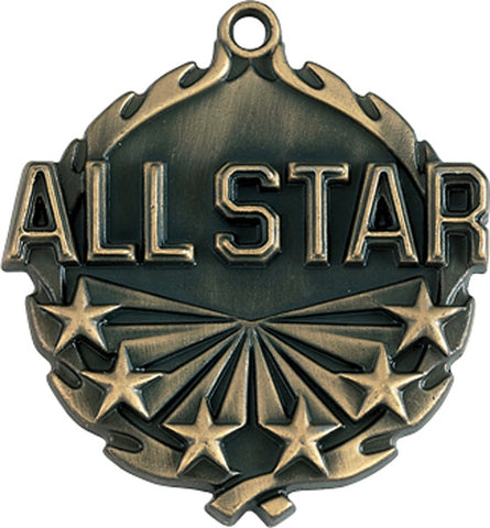 All Star - Sculptured Medal