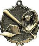 Baseball - Sculptured Medal