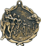 Cross Country - Sculptured Medal