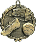 Soccer - Sculptured Medal