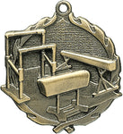 Gymnastics - Sculptured Medal