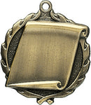 Scroll - Sculptured Medal