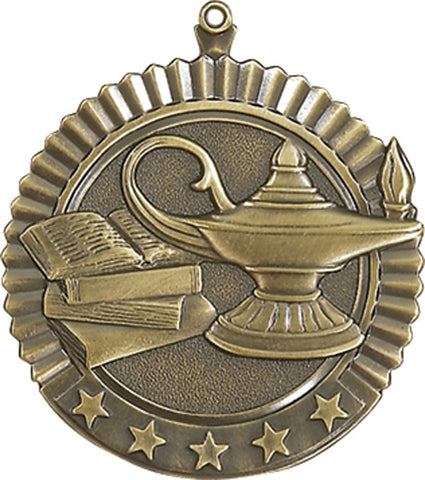 Lamp of Knowledge - Star Medal