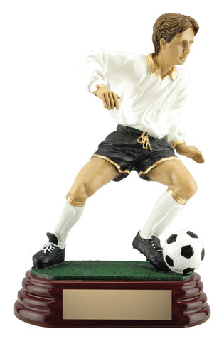 Male Soccer Player Trophy