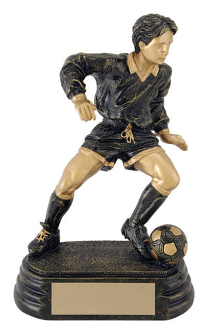 """Aztec Gold Player"" Men's Soccer Trophy"