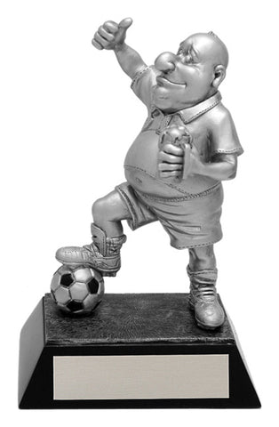 """Comic"" Soccer Trophy"