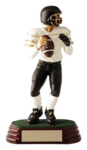 """Quarterback"" Football Trophy"