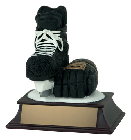 """Skate & Glove"" Hockey Trophy"