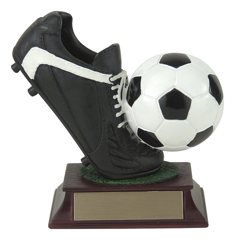 """Ball and Shoes"" Soccer Trophy"