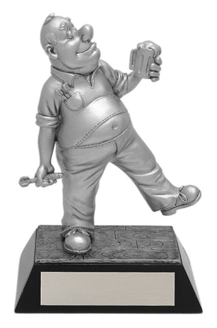 """Comic Darts"" Distinctive Trophy"