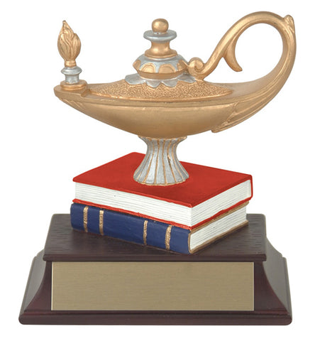 """Lamp of Knowledge"" Academic Trophy"