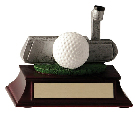 Putter Golf trophy