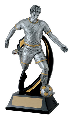 """Wave"" Men's Soccer Trophy"