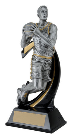 """Wave Basketball"" Men's Basketball Trophy"