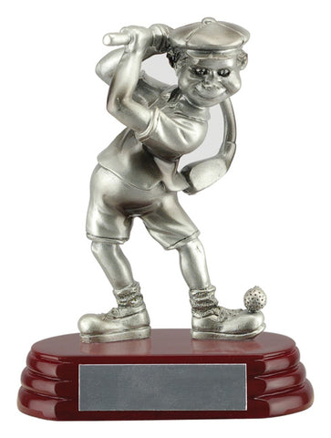 """Comic"" Golfer Trophy"
