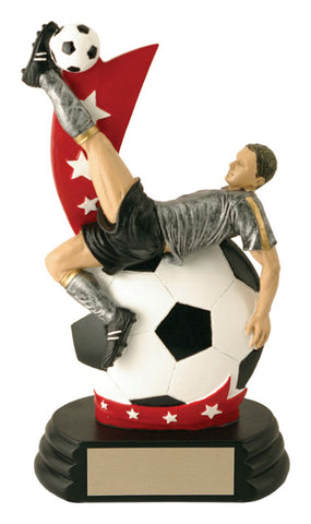 """All-Star Player"" Men's Soccer Trophy"