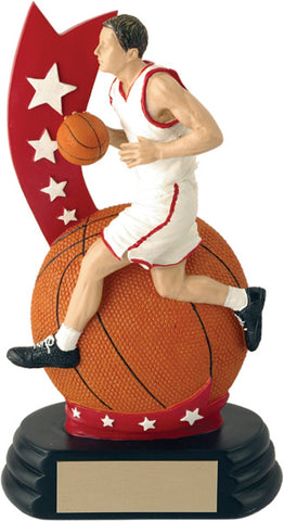 Men's All-Star Player Basketball Trophy