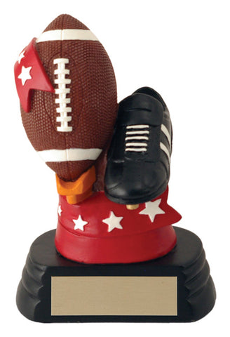 All-Star Ball & Shoe Football Trophy