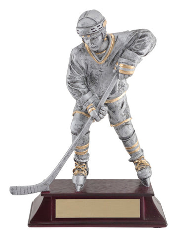"""Vintage Player 1"" Men's and Women's Hockey Trophy"