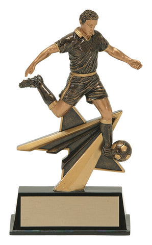 """Star Power"" Men's Soccer Trophy"