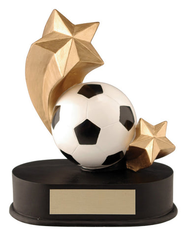 """Shooting Star"" Soccer Trophy"