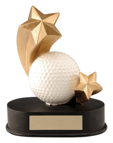 """Shooting Star"" Golf Trophy"