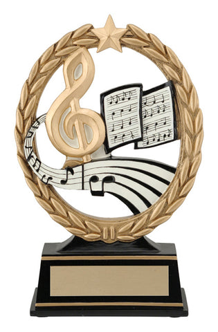 """Negative Space Music"" Academic Trophy"
