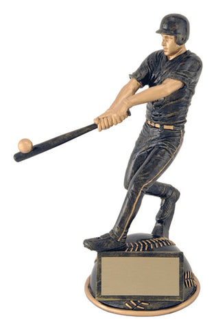 """Aztec Gold Half Ball"" Men's Baseball Trophy"