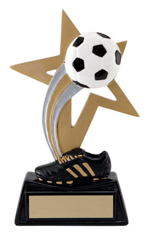 """Big Star"" Soccer Trophy"