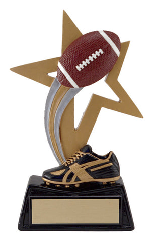 """Big Star"" Football Trophy"