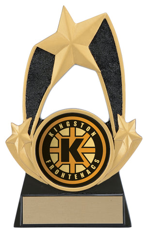 """Triple Star 2"" Holder"" Distinctive Trophy"