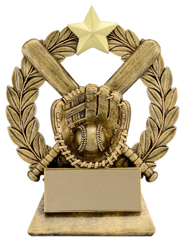 """Garland"" Baseball Trophy"