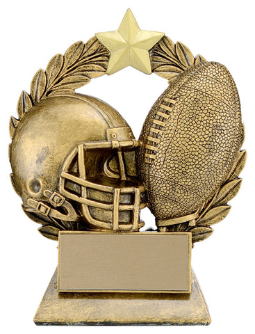 """Garland"" Football Trophy"