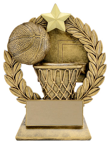 """Garland"" Basketball Trophy"