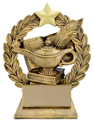"""Garland Knowledge"" Academic Trophy"