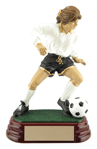 Female Soccer Player Trophy