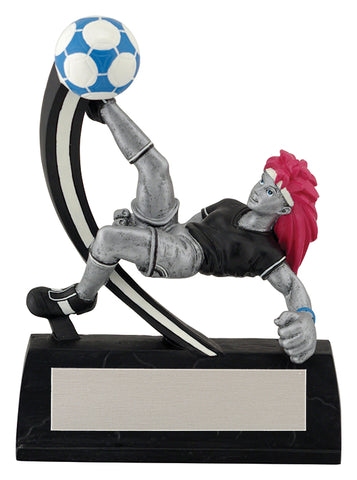 """Manga"" Men's and Women's Soccer Trophy"