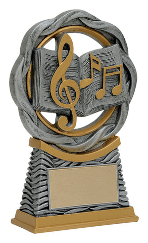 """Fusion Music"" Academic Trophy"