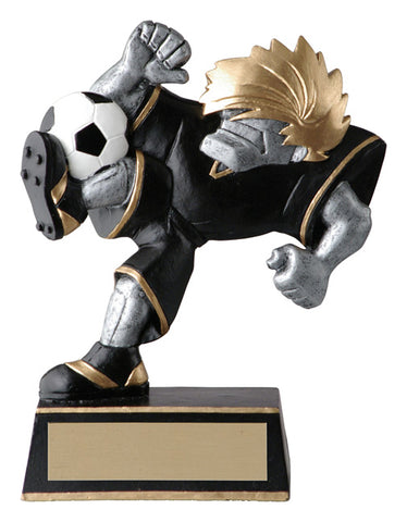 """Muscle Head"" Soccer Trophy"