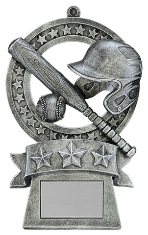"""Star Medal"" Baseball Trophy"