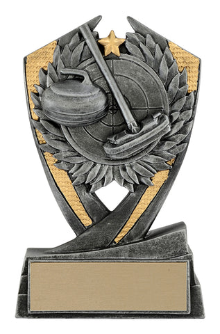 """Phoenix Curling"" Distinctive Trophy"