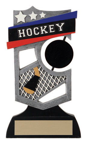 """Shield Spinner"" Hockey Trophy"