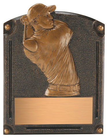 """Legends of Fame"" Golf Plaque"