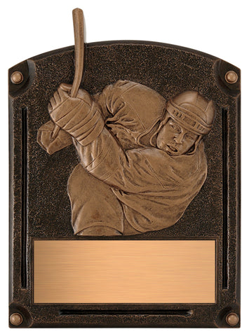"""Legends of Fame"" Hockey Plaque"
