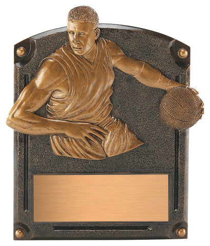 """Legends of Fame"" Basketball Plaque"