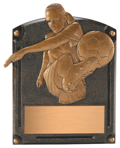 """Legends of Fame"" Male & Female Plaque"